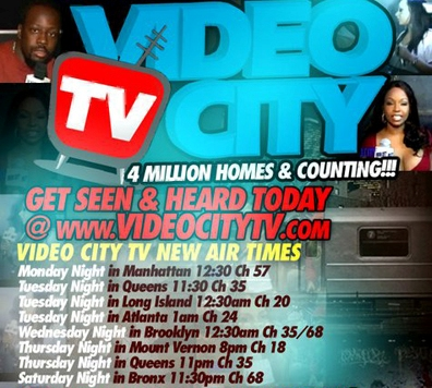 Video City TV - Fastest Growing Urban Media Outlet