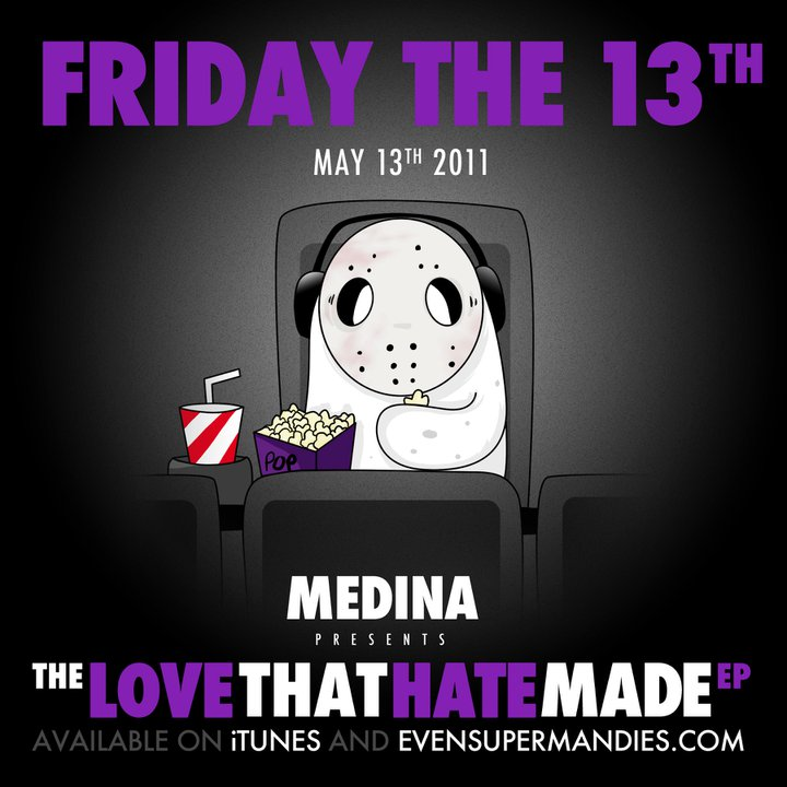 Medina releases second single off forthcoming E.P. The Love That Hate Made, 