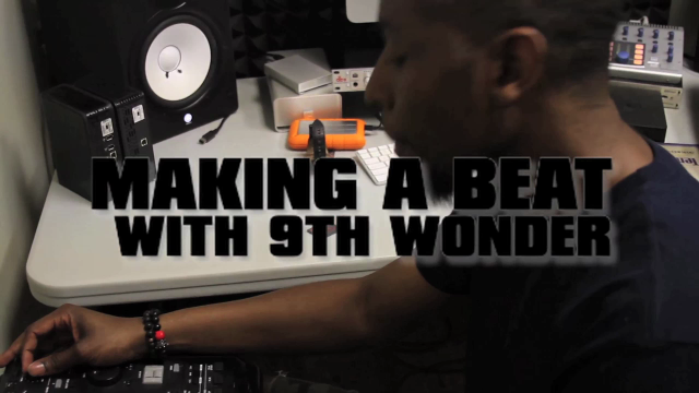 Making a Beat With 9th Wonder