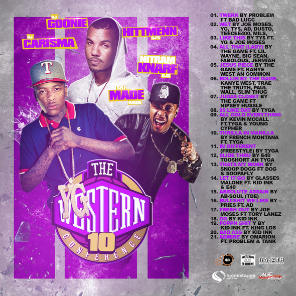 Self Made Radio, DJ Goonie, DJ Carisma - The Western Conference 10 (Free DL)
