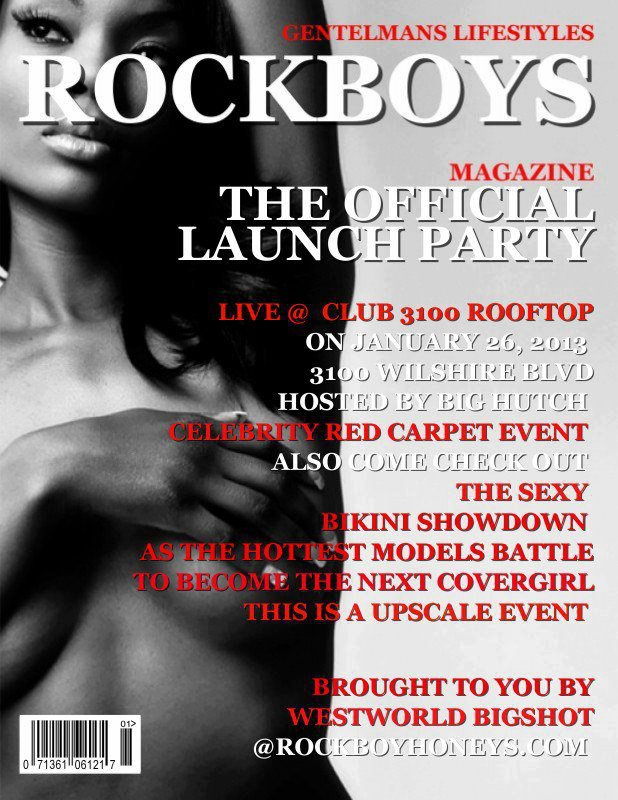 ROCKBOYS MAGAZINE LAUNCH PARTY