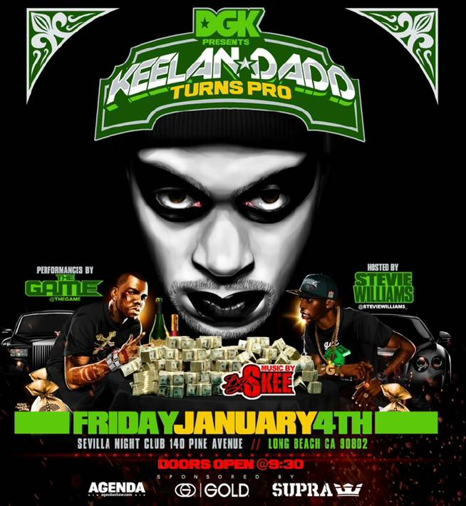 DGK & THE GAME TEAM UP FOR AGENDA AFTER PARTY AND LIVE PEFORMANCE