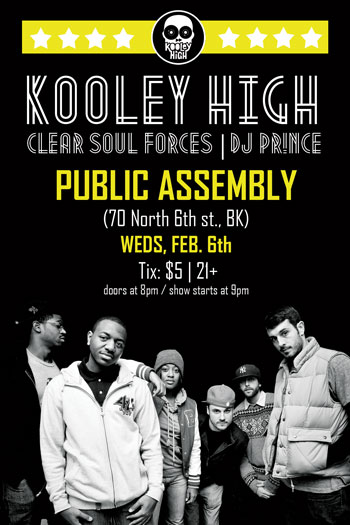 Clear Soul Forces x Kooley High = Freq Freq